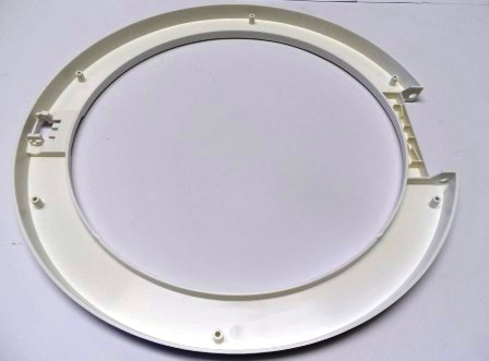 DOOR TRIM WHITE TUMBLE DRYER